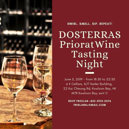 DOSTERRAS Priorat Wine tasting