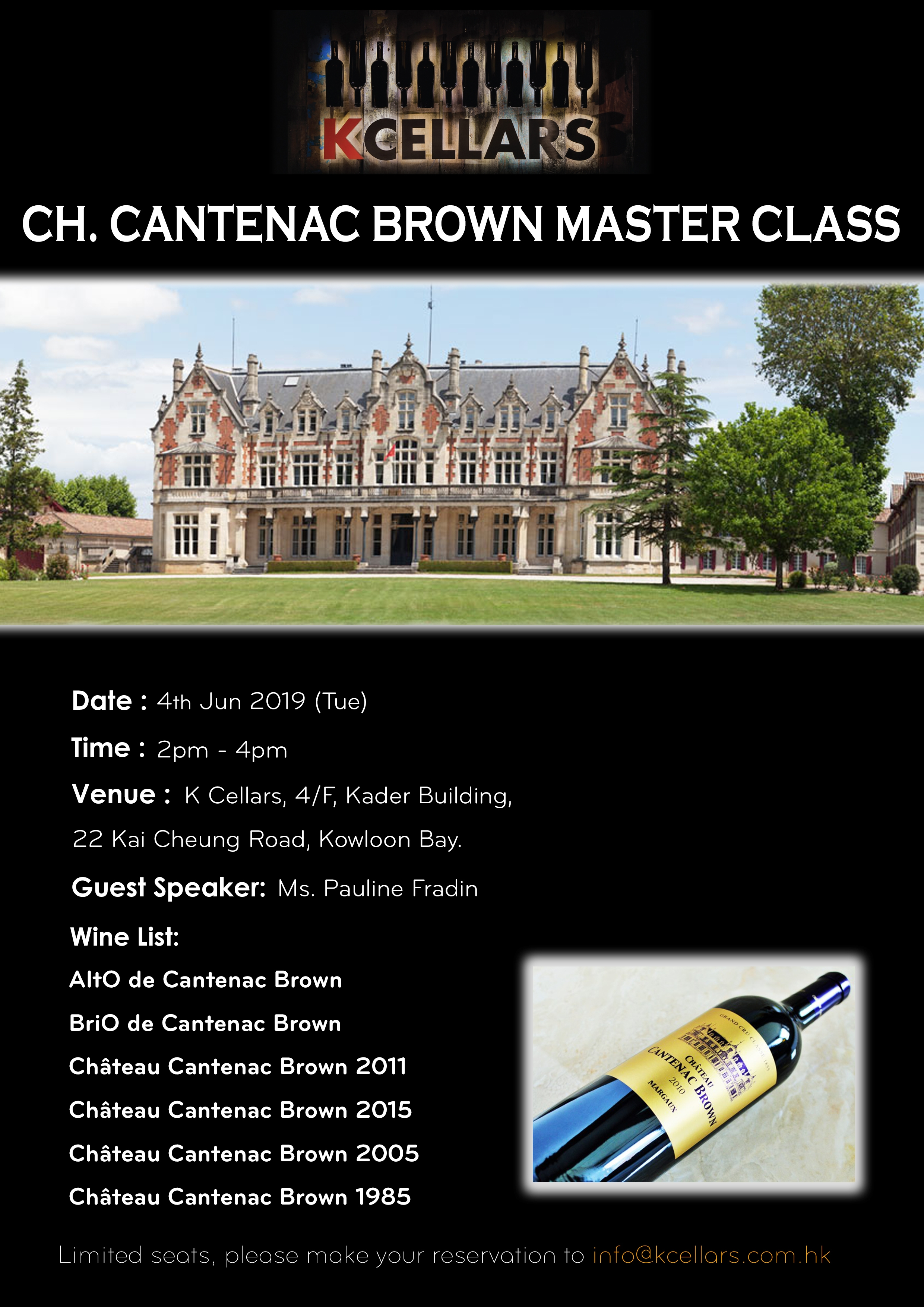 Ch. Cantenac Brown Master Class