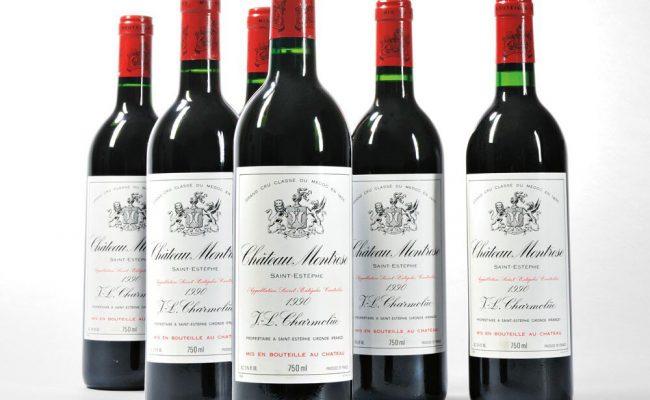 chateau-montrose-1990-6-bottles